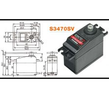 Futaba Servo S3470SV Digital S-Bus2 MG FUTM0131