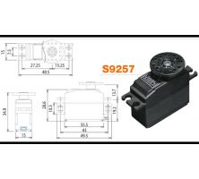 Futaba Servo S9257 Digital CL FUTM0667