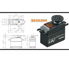 Futaba Servo S9352HV Digital  CL WP FUTM0720