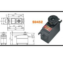 Futaba Servo S9452 Digital MG WP CL FUTM0662